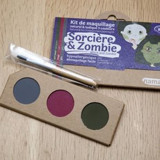Namaki Bio-schminkset heks en zombie