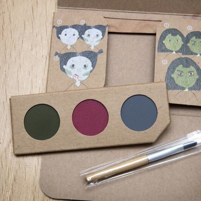 Namaki Kit de maquillage bio sorcière & zombie