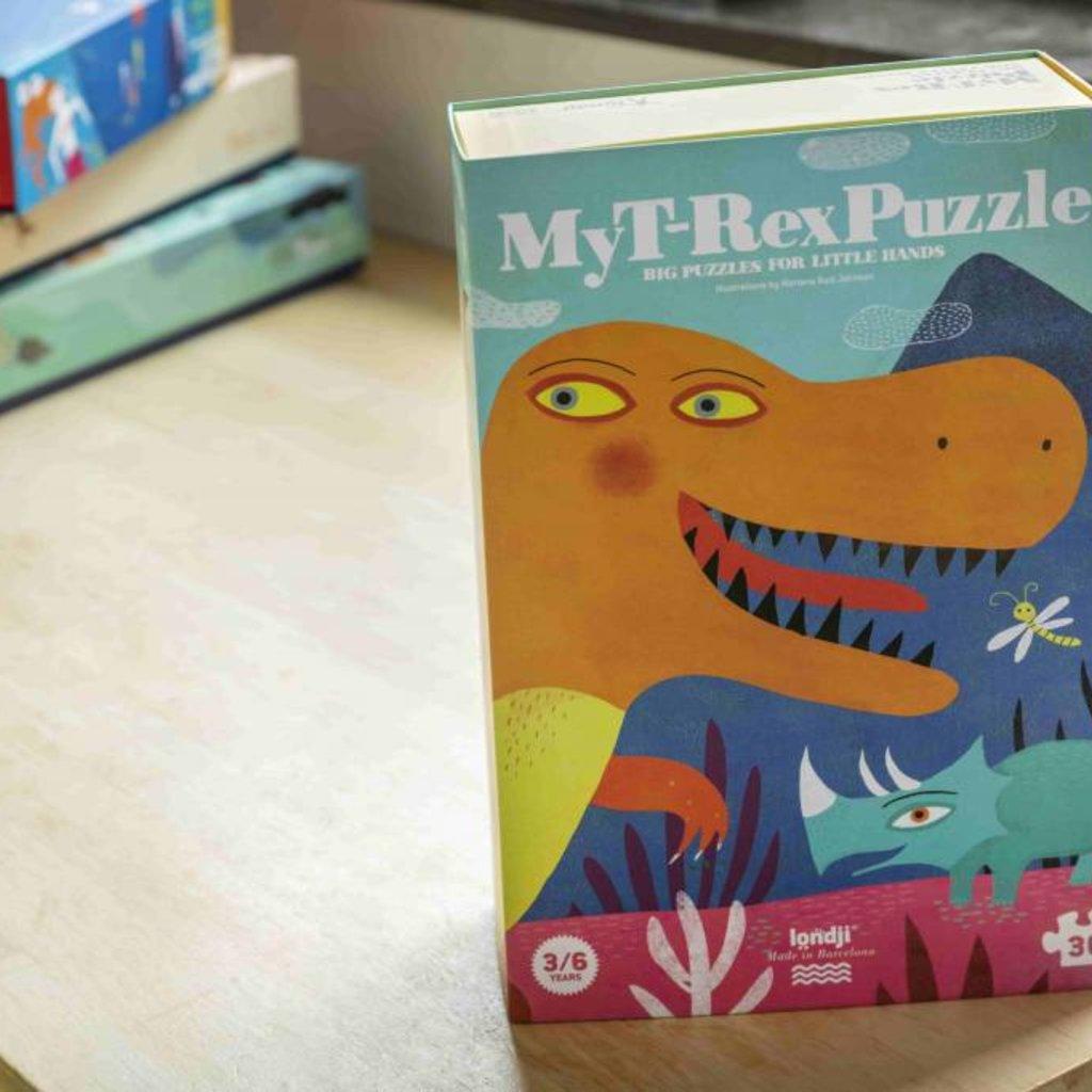 Londji Londji Mijn T-Rex puzzel