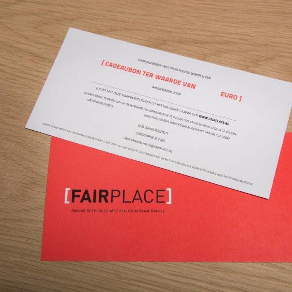 Fairplace waardebon 10 euro