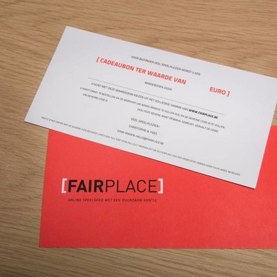 Fairplace Gift voucher 10 euro