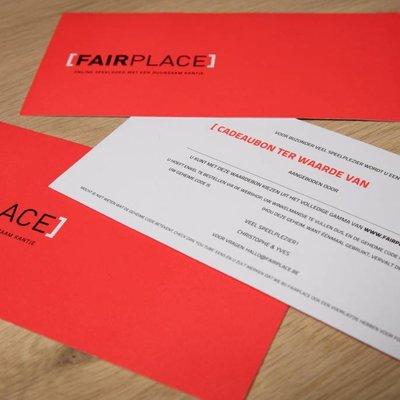 Fairplace Chèque-cadeau 20 euro