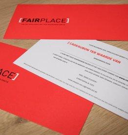 Fairplace Waardebon 50 euro