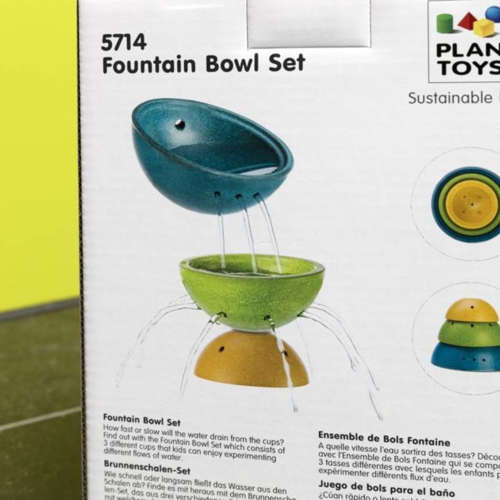 Plan Toys Plan Toys fountain bowl set