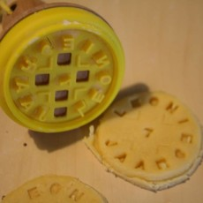 Suck UK Custom cookie stamp