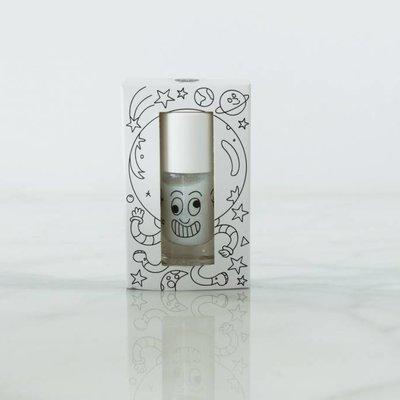 Nailmatic Vernis à ongles blanc à paillettes Super