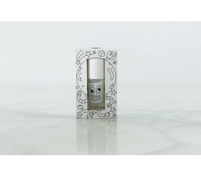 Nailmatic nagellak wit met glinsters 'Super'