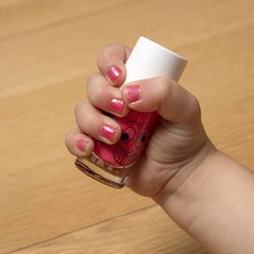 Nailmatic Nailmatic nagellak fuchsia met glitters 'Kitty' 8 ml