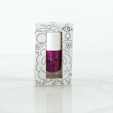 Nailmatic Nailmatic nagellak purper met glitters 'Piglou'
