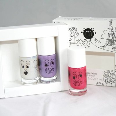 Nailmatic Nagellak set City 3 kleuren