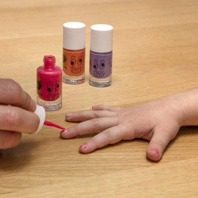 Nailmatic Set de vernis à ongles coffret Jungle 3 couleurs