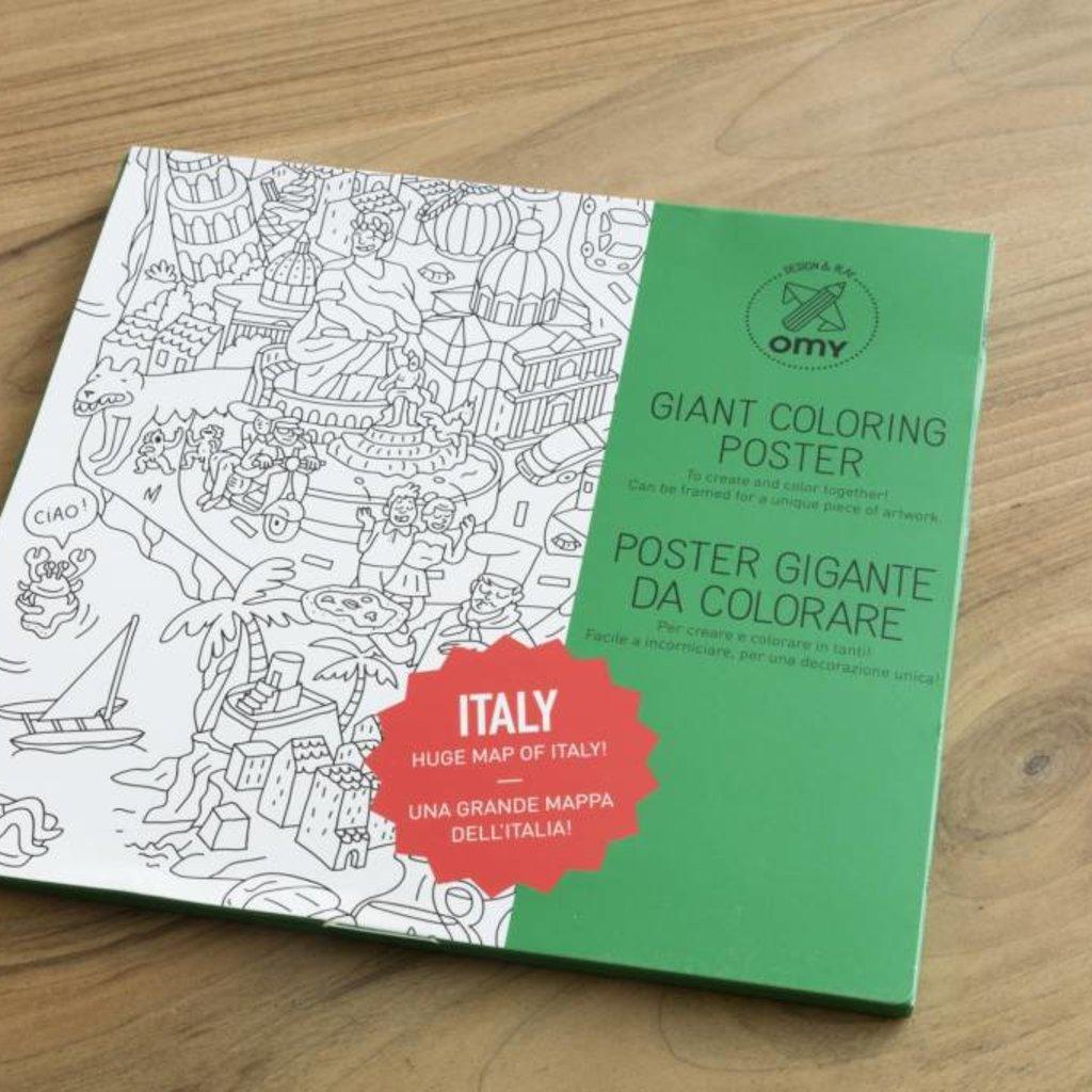 OMY OMY kleurposter Italië
