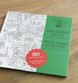 OMY Kleurposter Italië