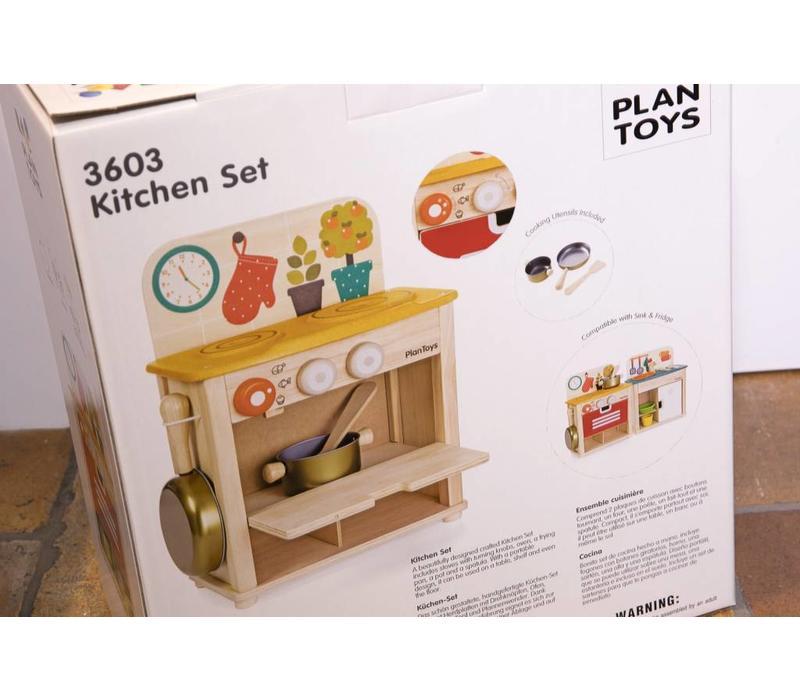 Plan Toys keukenset