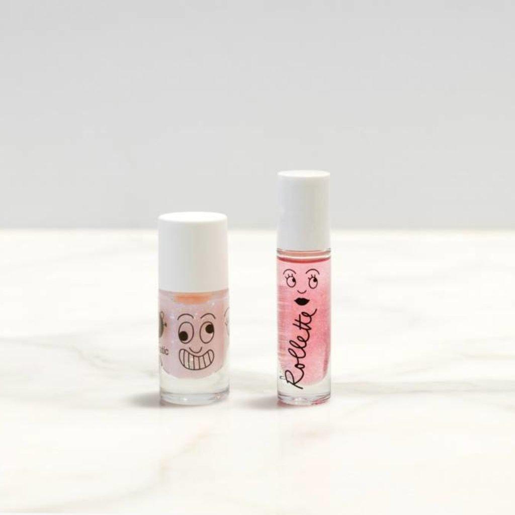 Nailmatic Sprookjesachtige nagellak en lipgloss in één set!