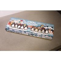 Puzzel 10 Pinguïns op een rij