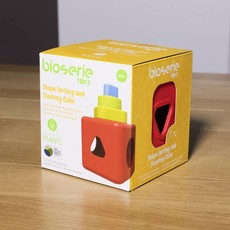 Bioserie Bioserie shape sorting & stacking cube