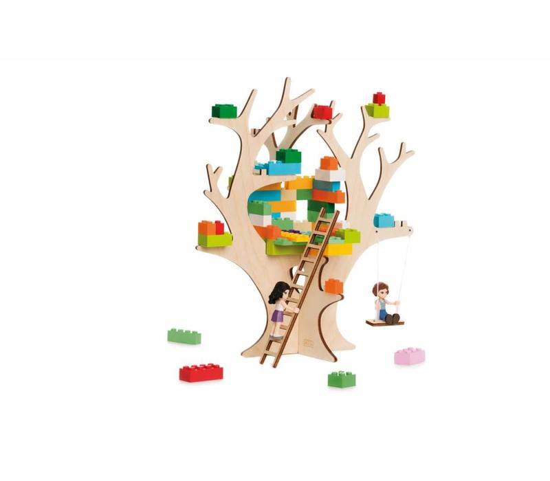 De zelfbouw boomhut voor alle blokken!