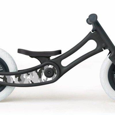 Wishbone Stickers look camouflage noir et blanc - personnalisation vélo