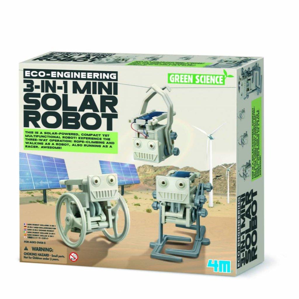 4M Toys 4M 3-in-1 Mini Solar Robots