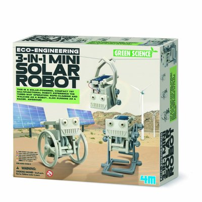 4M Toys Robots solaires mini