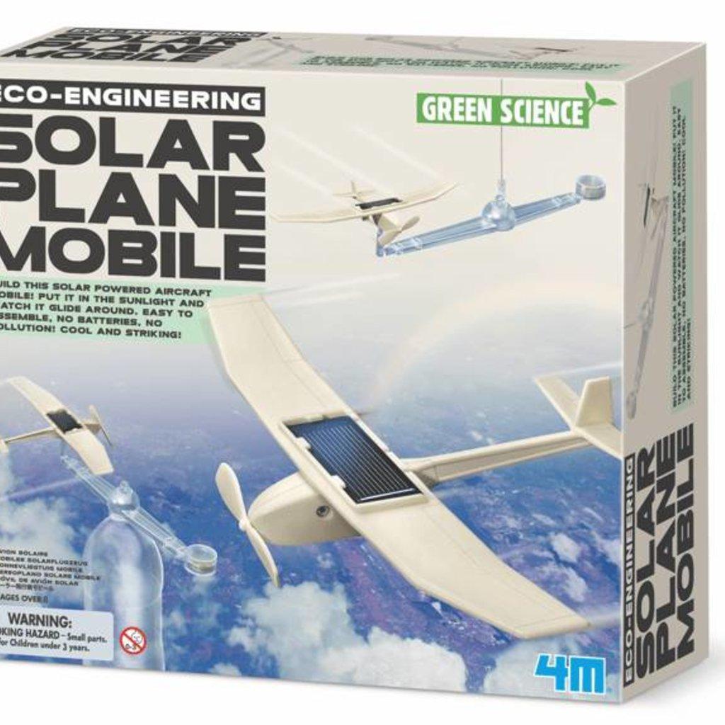4M Toys 4M Solar plane mobile