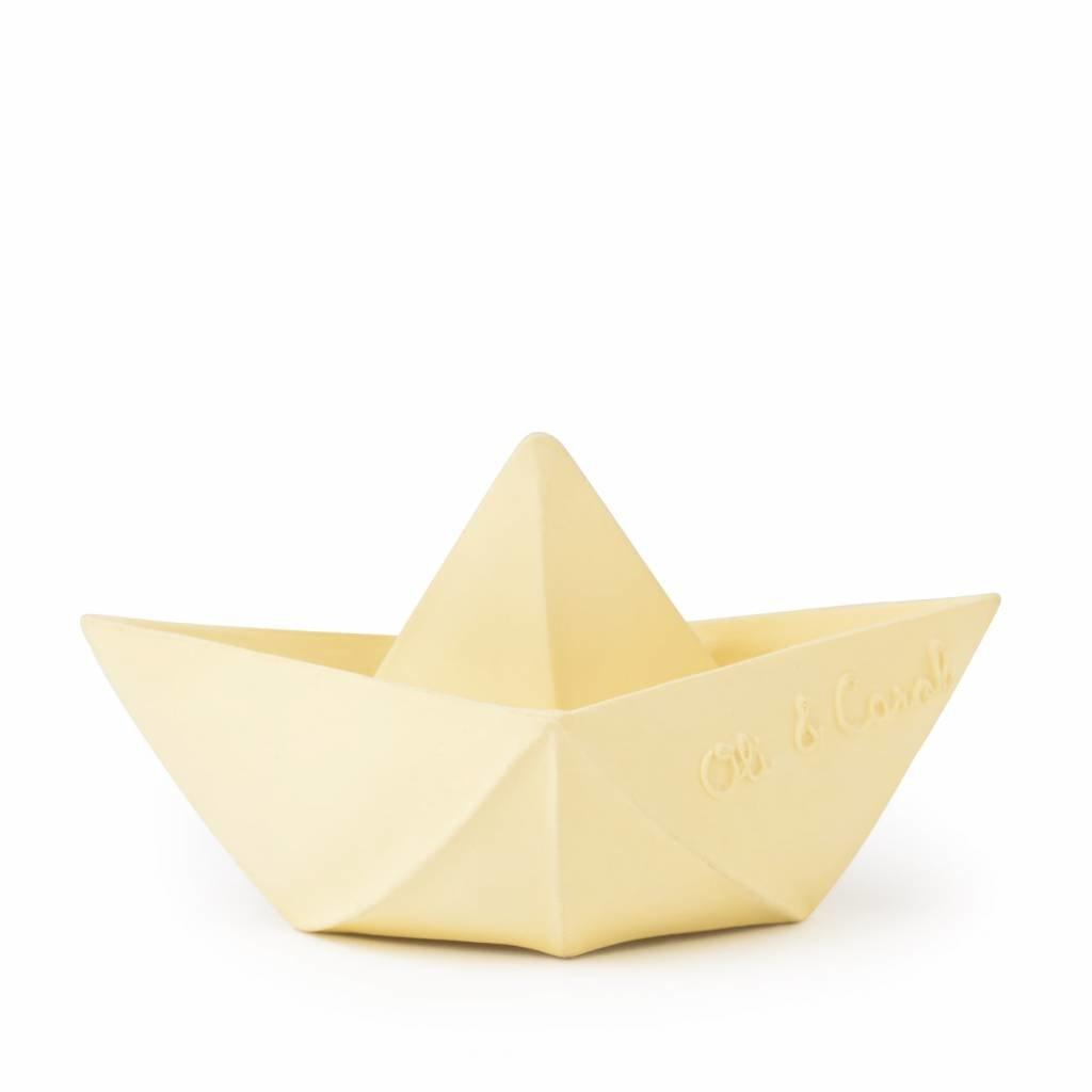 Oli & Carol Oli & Carol origamibootje vanille