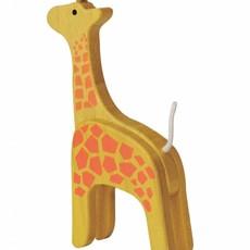 Giraf in bamboe