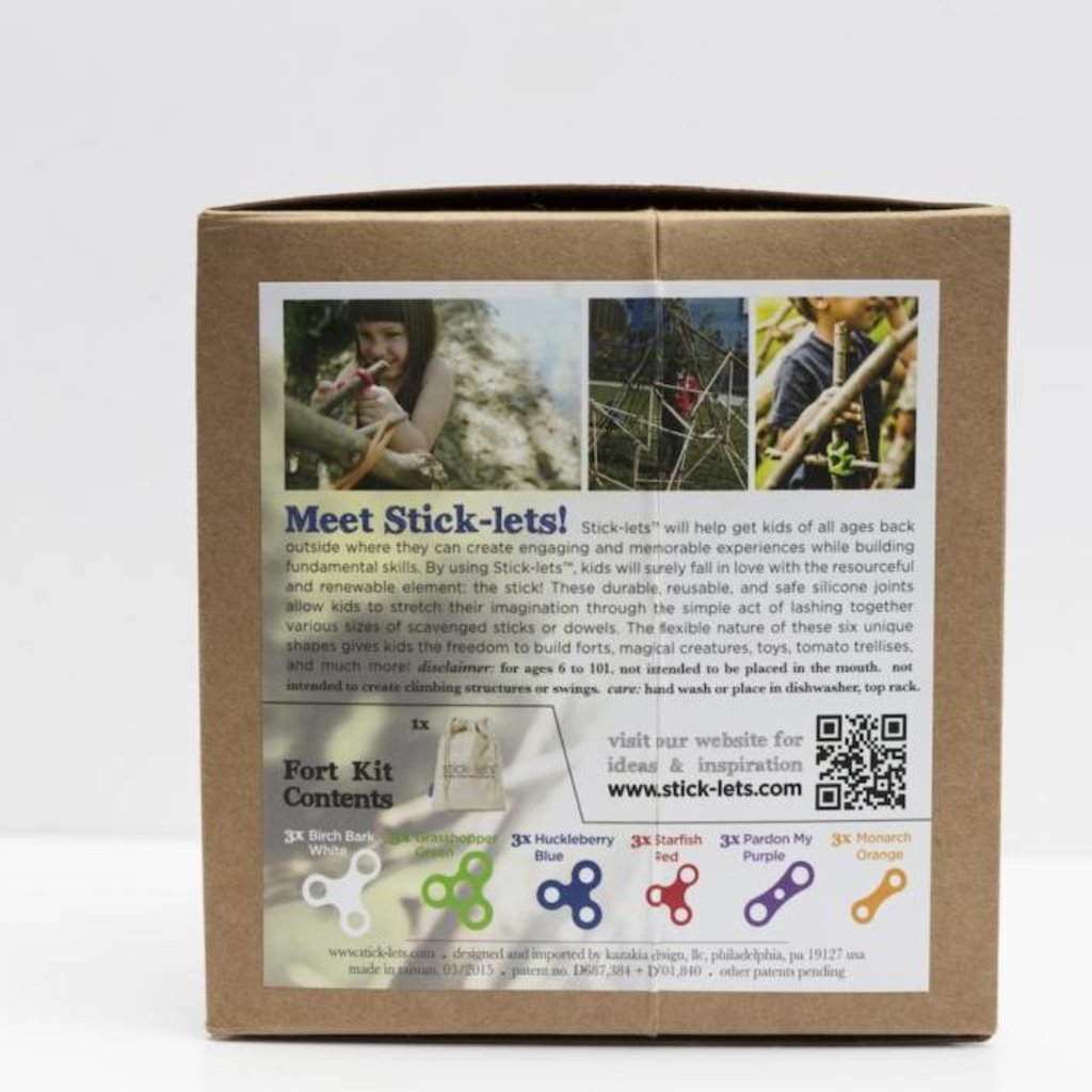 Stick Lets Stick-lets Megafort kit 18 delig