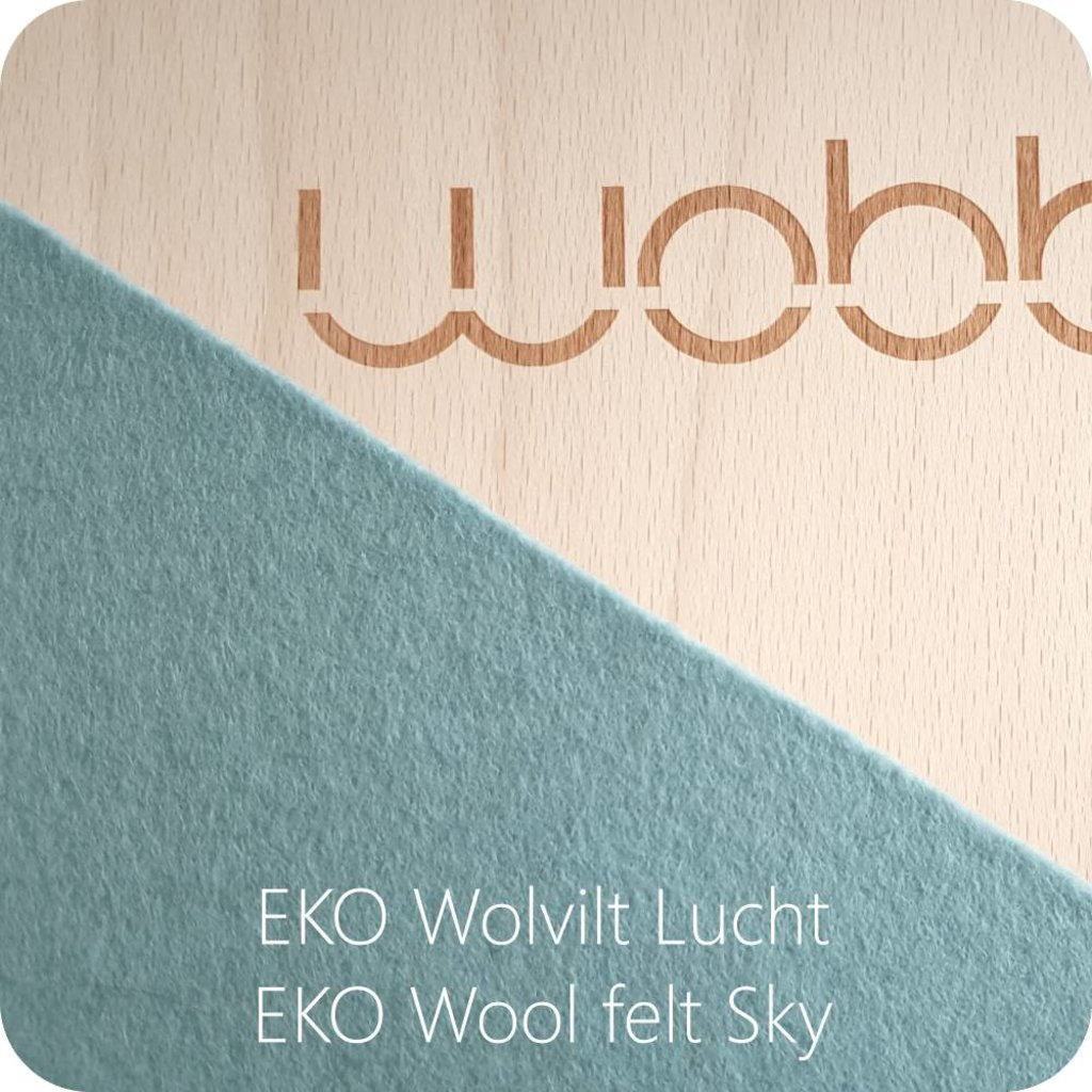 Wobbel Wobble original blank lacquered with felt air
