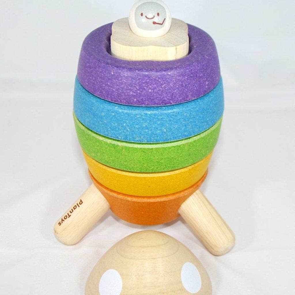 Plan Toys Plan Toys stapelraket! And Go!