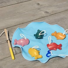 Plan Toys Plan Toys fishing game, don't let them slip through your fingers