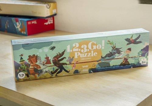 Londji 1,2,3, Go! puzzel