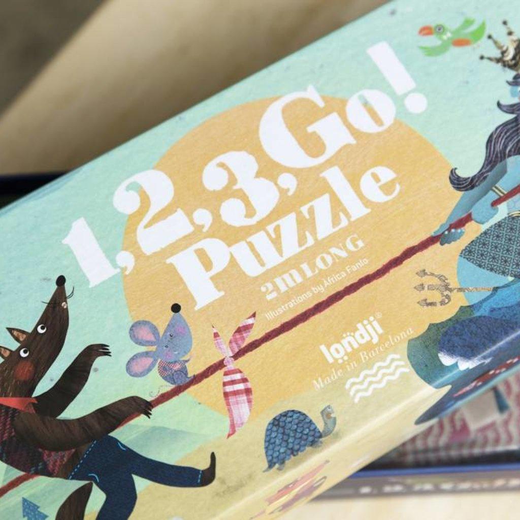 Londji Londji 1,2,3, Go! puzzel