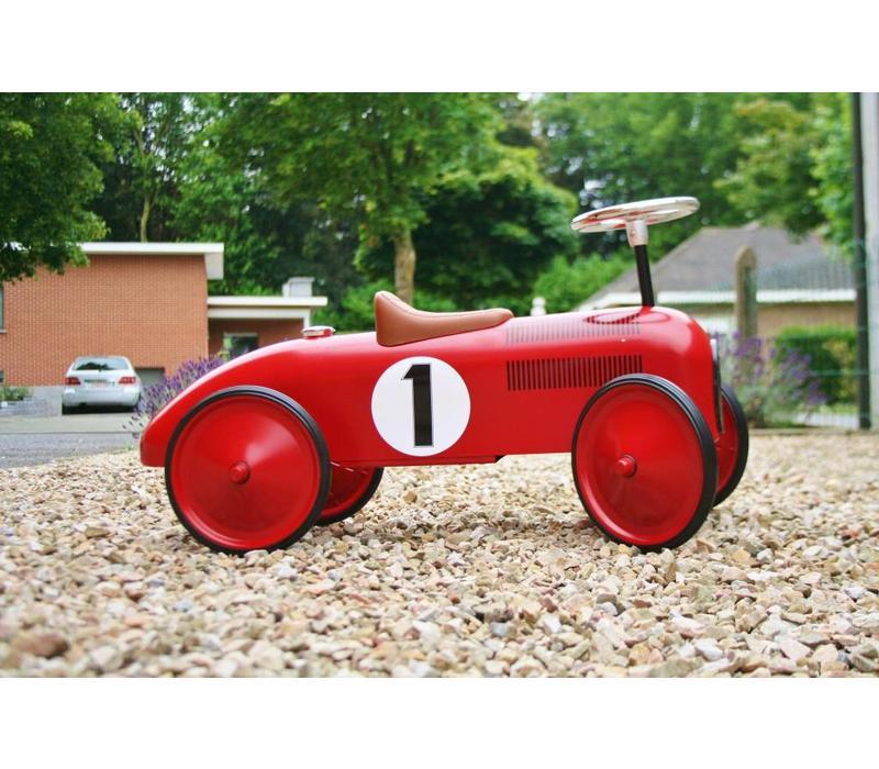 Loopauto rood