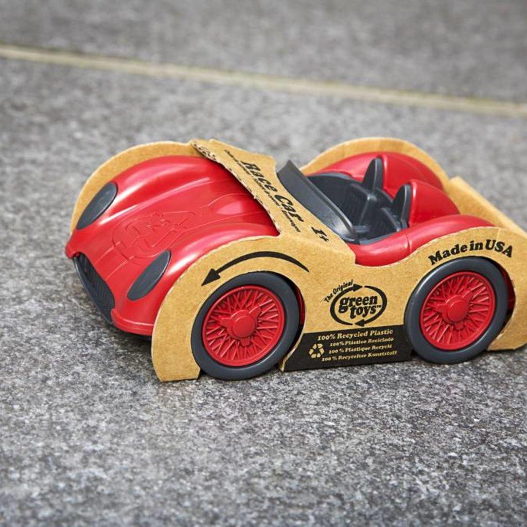 Green Toys Green Toys racewagen rood