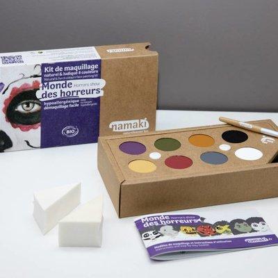 Namaki Kit de maquillage bio monde des horreurs