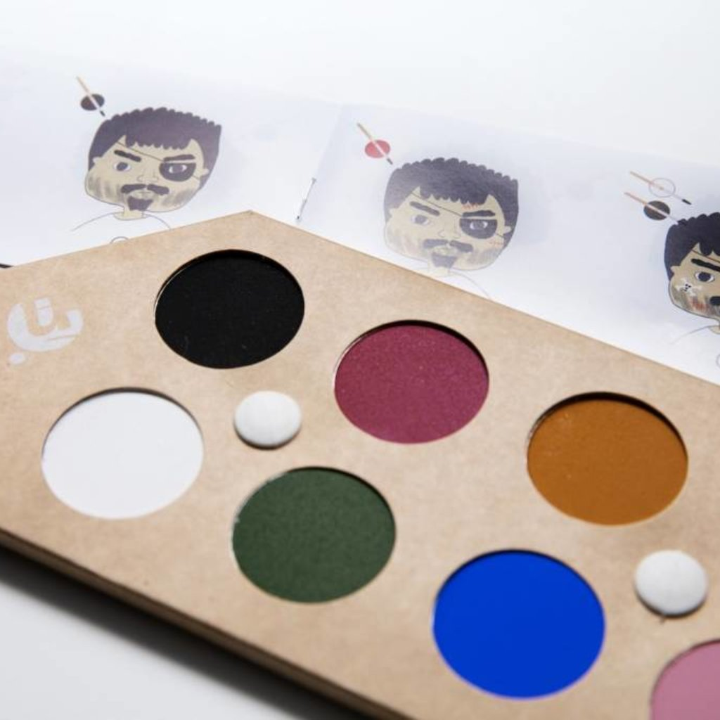 Namaki Bio face painting kit magical worlds