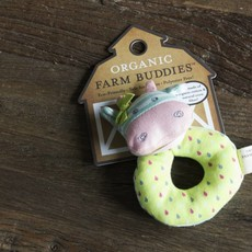 Organic Farm Buddies Organic Farm Buddies Belle Cow rattle ring