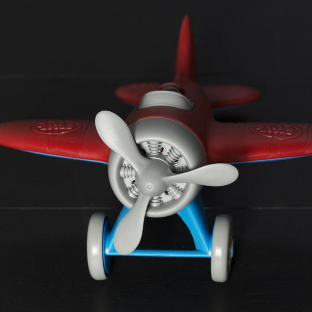 Green Toys Green Toys avion rouge