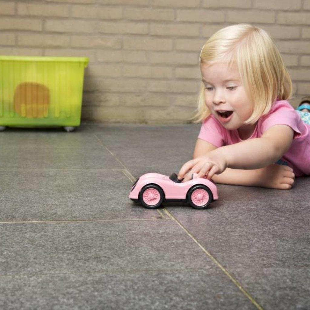 Green Toys Green Toys racewagen roze