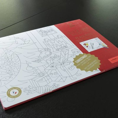 OMY Bloc à colorier - sets de table Noël