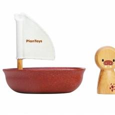 Plan Toys Plan Toys zeilboot met walrus