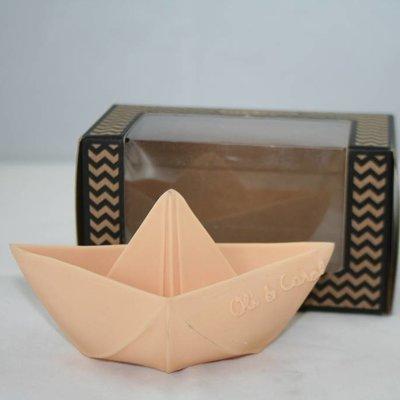 Oli & Carol Origami Boat Nude Pink
