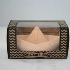 Oli & Carol Oli & Carol natuurrubber origamibootje nude pink