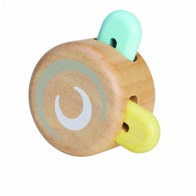 Plan Toys Peek-a-boo roller pastel