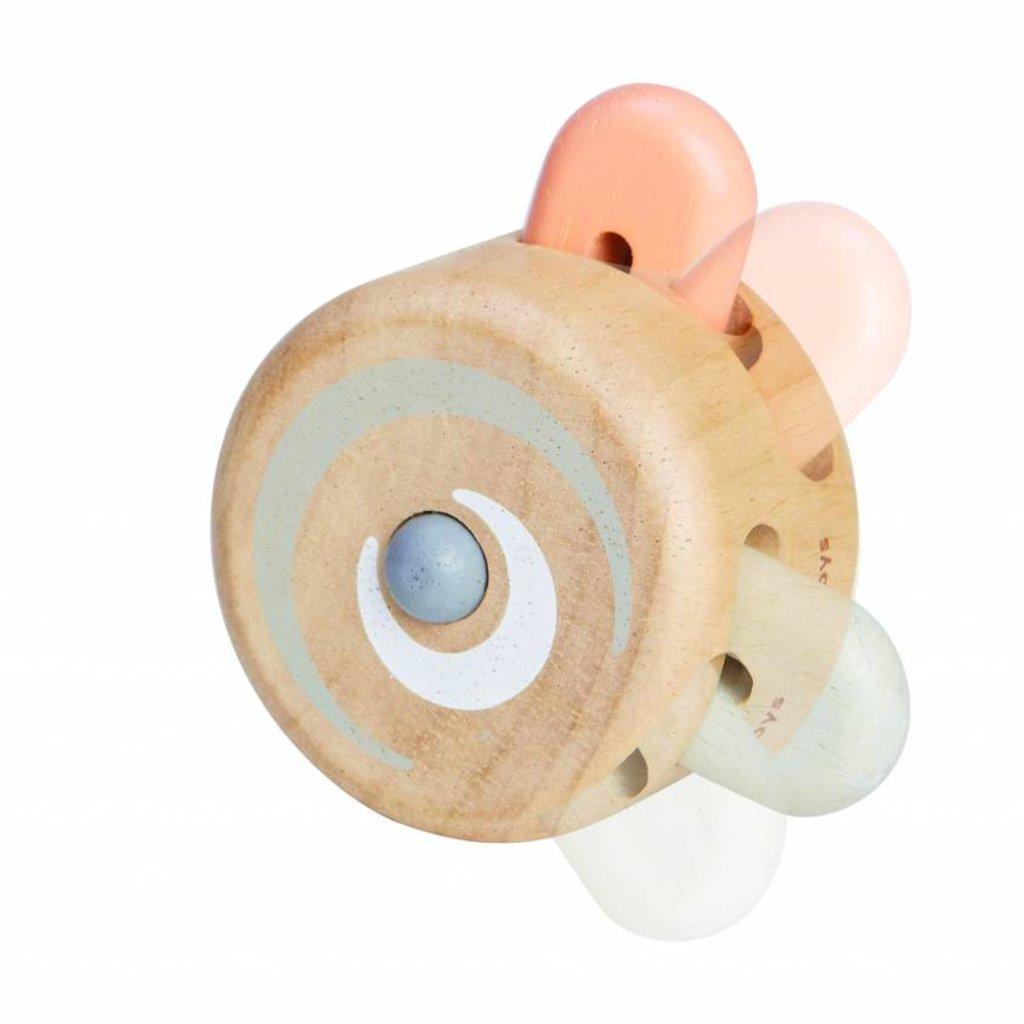 Plan Toys Kiekeboe roller pastel