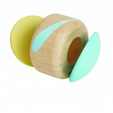 Plan Toys Klapperende roller pastel