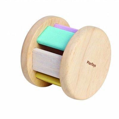 Plan Toys Rouleau pour bébé couleurs pastel