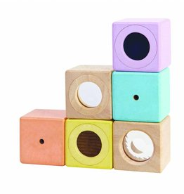 Plan Toys Sensory blocks pastel